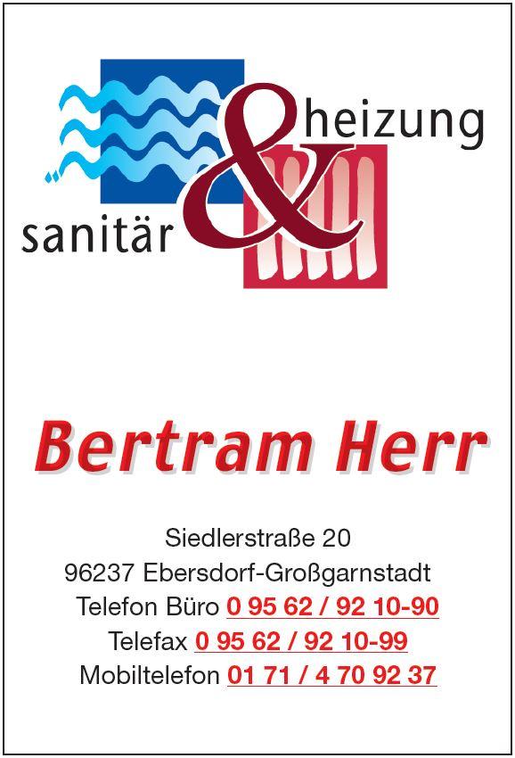 Bertram Herr