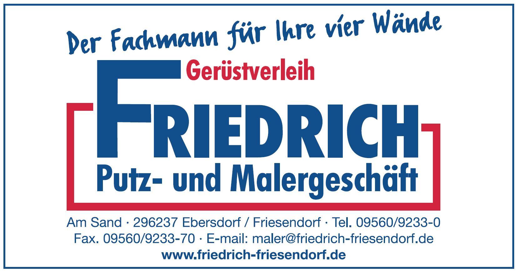 Gerüstverleih Friedrich