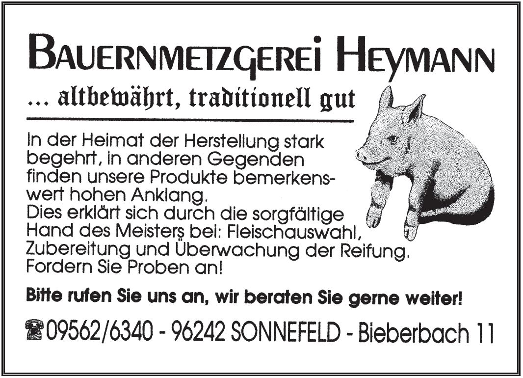 Bauernmetzgerei Heymann